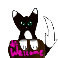 Tangle welcome by Tangle-Kitty