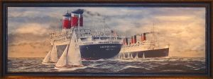 SSUS and Queen Mary by Kipfox32