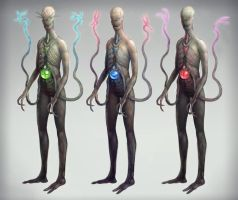 Alien Concepts by dnomaid