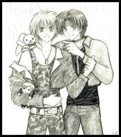Shuichi and Ryuichi -By Lizeth by gravitation-fanclub