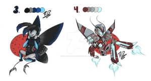 Transformers animated Adopts set 2 /Open by Bonnie-Sweets-Bonbon