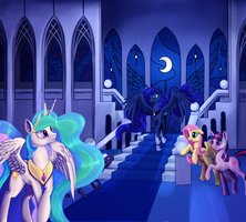 Princess of the night by Dalagar