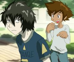 Digimon n DN: Nice clothes by Shigerugal