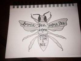 Imma Bee by kmullinsz