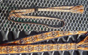 tablet weaving : horn by were-were-wolfy