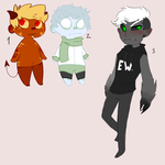 Quick adopts -open- by BraiinHiccup