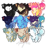 Fumi beans by Moriartea-time