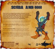 Cataclysm Scuba AWH-9000 by sekky