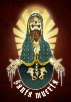 Santa Muerta by paulorocker