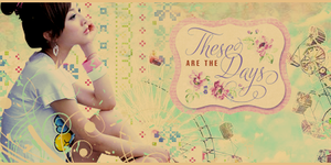'These Days' -Asian Signature by blueangel06661