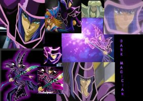 Dark Magician Wallpaper by Vampiress-Stocking