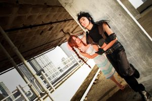 Final Fantasy VII - Aerith x Zack by Xeno-Photography
