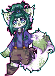 I am a Beautiful Green color by Fluffyspace