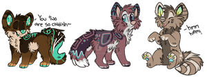 Chibi Dog Auction :CLOSED: by PilusAdopts
