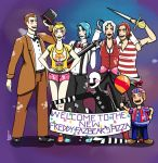 Five Night's At Freddy's 2 - The toy band by ArmaniaMothe