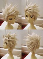 Kakashi Wig Commission by red-cluster