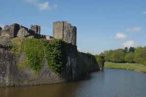 caerphilly castle 24 by TomatoSource