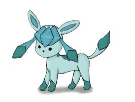 Glaceon Chibi by Skip282