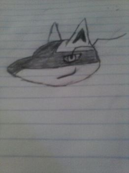 my draw lucario by xboxdana011