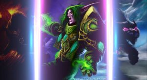 DRUID OF THE CLAW - HEARTHSTONE by Maiconcrvg