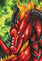 Dragarta ACEO by Natoli