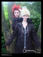Axel and Roxas - Happy dreams by OblivionOrNot