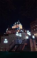Quebec and Lights by Vibrantx
