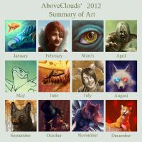 2012 Summary of Art by aboveClouds