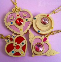 Sailor Moon Handmade Necklaces by onsenmochi