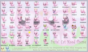 Pastel Cat Mood Theme by princess-phoenix
