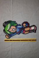 Ramona Flowers Perler by Claymmdude