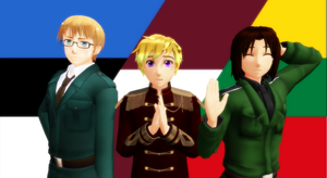 Hetalia - Baltic Trio by YuMoriChii