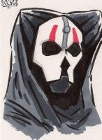 Darth Nihilus Sketch Card by GordZee