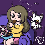 Bee and Puppycat by Starflier