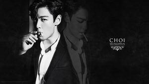 T.O.P aka Choi Seunghyun for MAX Movie - Wallpaper by xSparklyVampire