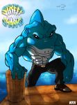 Street Sharks again by MikeBock