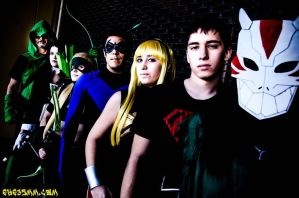 Young Justice Team by FemaleFlash
