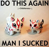 Do this again Meme: Chibiterasu by MaryBunnie