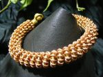 Coiled coils bangle by BacktoEarthCreations