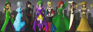 Gotham Gowns by Vanthica