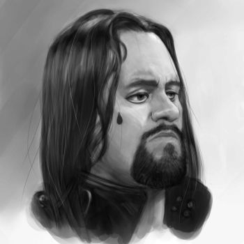Undertaker portrait by AliceSacco