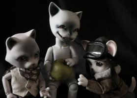 BJD little ones by EscaBowmer