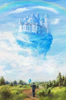 The Flying Palace by Vilenchik