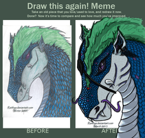 Draw this Again Dragonsona by Reithya