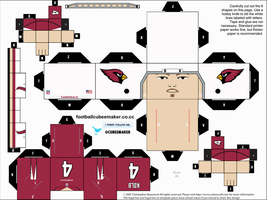 Kevin Kolb Cardinals Cubee by etchings13