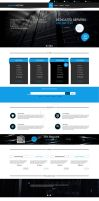 Web design project Enigma Hosting by Pulserdesign