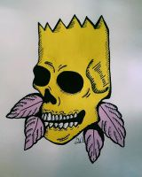 Skull Bart by AnalieKate