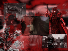 Vincent Valentine Wallpaper by Manic-Misha