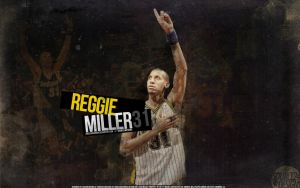 Reggie Miller Pacers Wallpaper by IshaanMishra