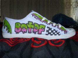Blood on The Dance Floor Custom sneakers 1 by SydeTrakked